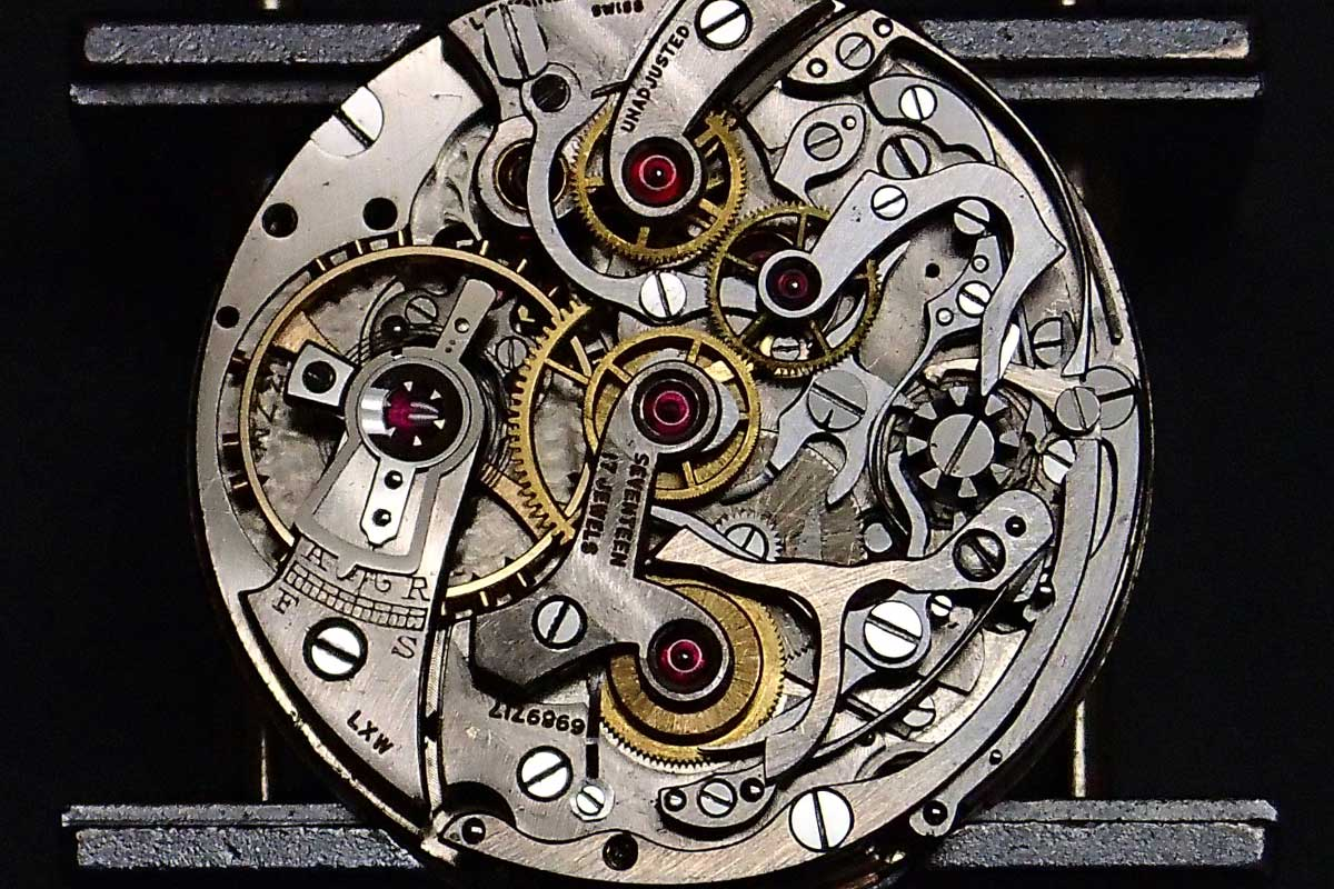 Longines Chronograph Movement
