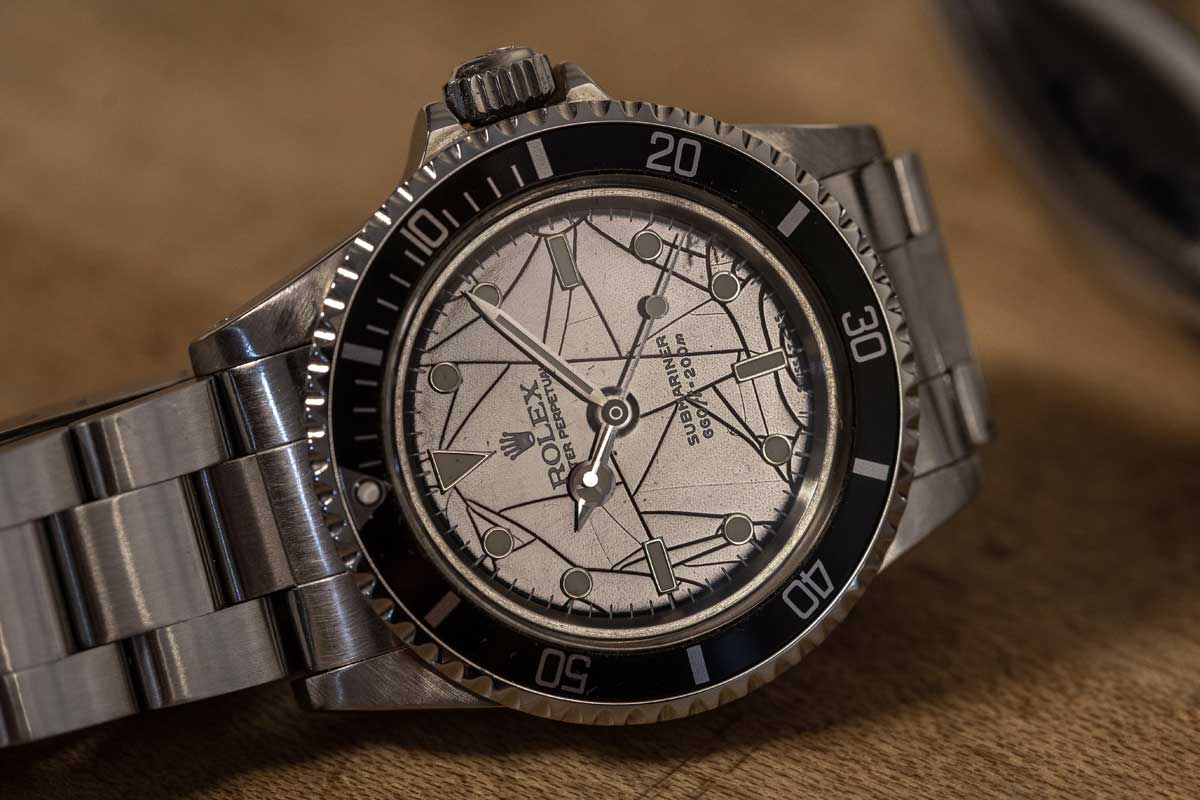 Rolex Spider Face Watch