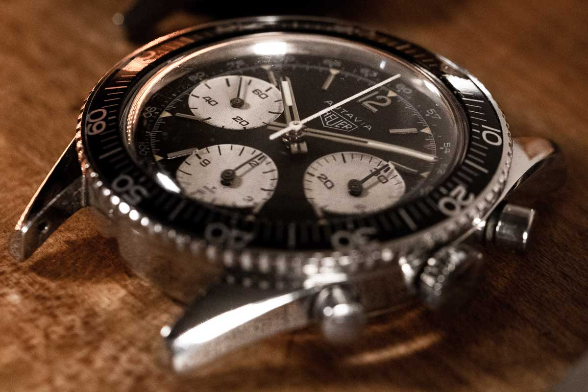 Heuer Autavia Watch 330m