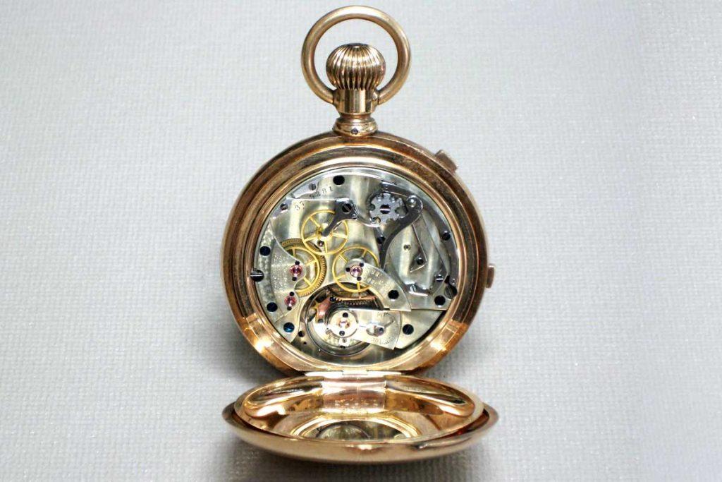 Gold Waltham pocket watch