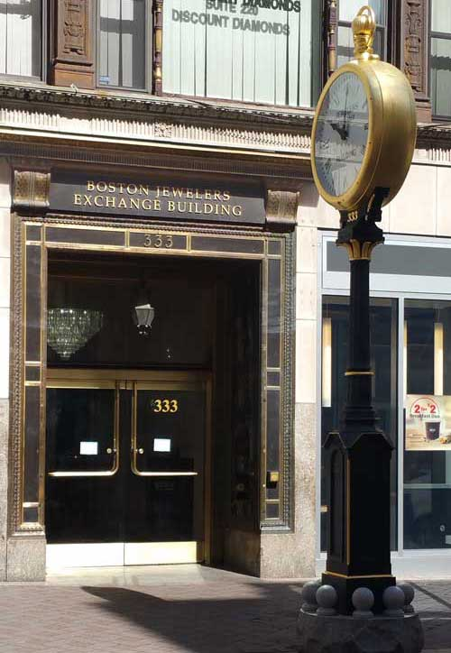 Front door of Precision Watch Works